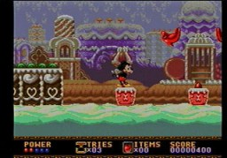 Castle of Illusion   Genesis Screenshot 002