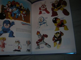 Mega Man character art