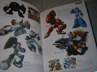 Armor and vehicles (Mega Man X5)