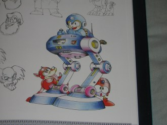 MM25: Mega Man & Mega Man X Official Complete Works | Mega Man in Sniper Armor