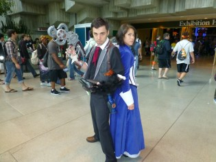 Booker and Elizabeth (BioShock Infinite)