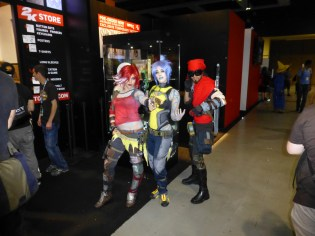 Lilith and Mordecai hanging out with Maya (Borderlands series)