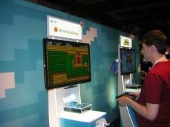 Man playing Shovel Knight on Wii U