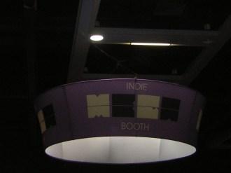 Indie MEGABOOTH sign