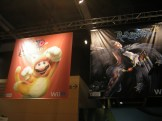 Super Mario 3D World and Bayonetta 2 banners