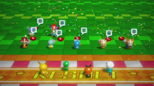 Pokémon Rumble U | Results Screen