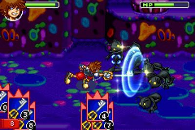 Kingdom Hearts: Chain of Memories - Top 10 Most Wanted GBA Games on Virtual Console | oprainfall