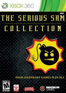 The Serious Sam Collection box art (Xbox 360)