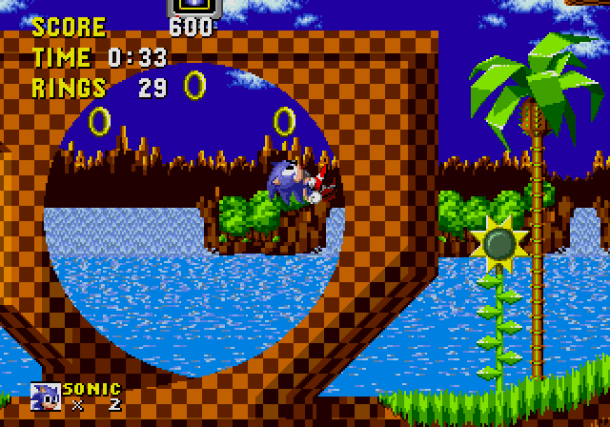 Sonic the Hedgehog | on Sega Genesis Classics