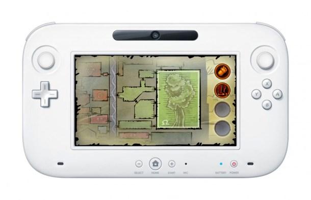 Teslagrad | Map on Wii U GamePad
