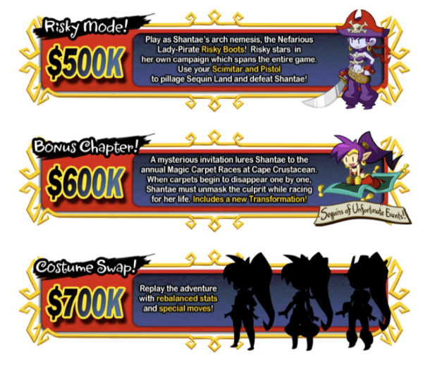 Shantae: Half-Genie Hero I Stretch Goal Sample
