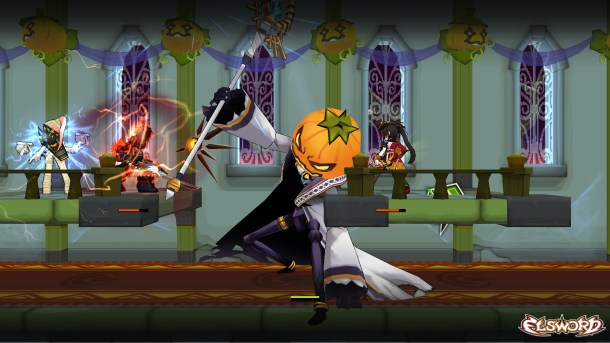 Elsword Halloween Dungeon | oprainfall