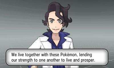 Pokémon X | Professor Sycamore