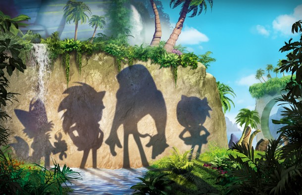 Sonic Boom | Character Shadows
