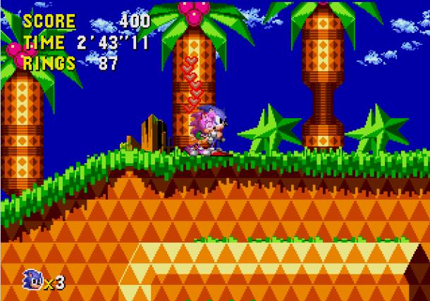 Sonic CD - Amy