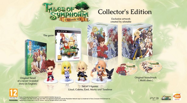 Tales of Symphonia Chronicles | EU/AUS Collector's Edition