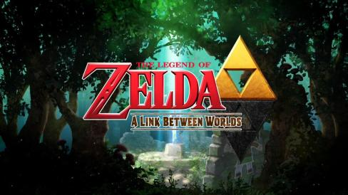 The Legend of Zelda: A Link Between Worlds | Logo With Master Sword
