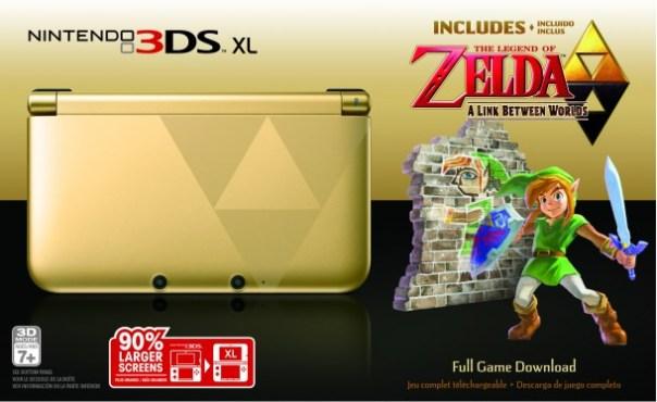Nintendo 3DS XL: The Legend of Zelda: A Link Between Worlds Edition - Media Create | oprainfall