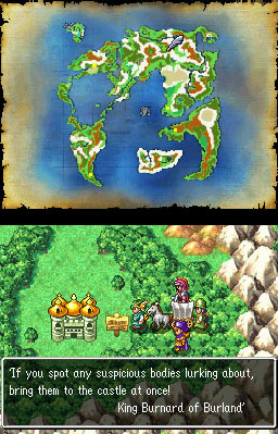 Dragon Quest IV - Outside Burland | oprainfall