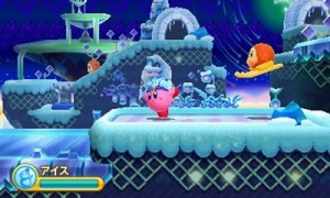 Kirby: Triple Deluxe - Ice Kirby | oprainfall