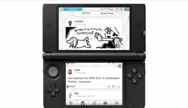 Miiverse on Nintendo 3DS