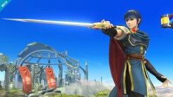 Smash Brothers Marth - Pointing