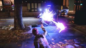 inFAMOUS Second Son | Delsin Firing Neon Bolt