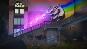 inFAMOUS Second Son | Delsin Running Neon Afterimages