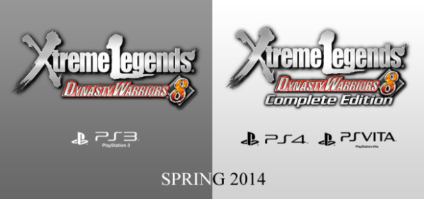 Dynasty Warriors 8: Xtreme Legends Logos | oprainfall