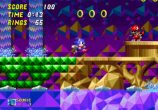 Sonic the Hedgehog 2 - Hidden Palace Zone | oprainfall