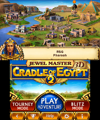 Jewel Master: Cradle of Egypt 2 3D | oprainfall