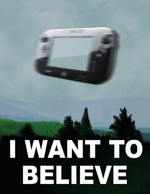 Wii U: I Want to Believe | Media Create