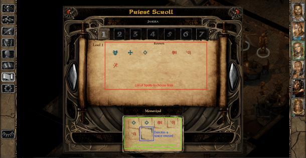 Baldur's Gate II Enhanced Edition - Spell Scroll