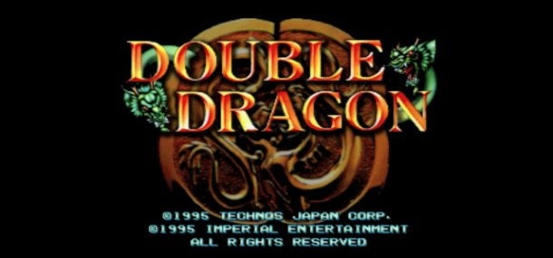 DoubleDragon Start Screen