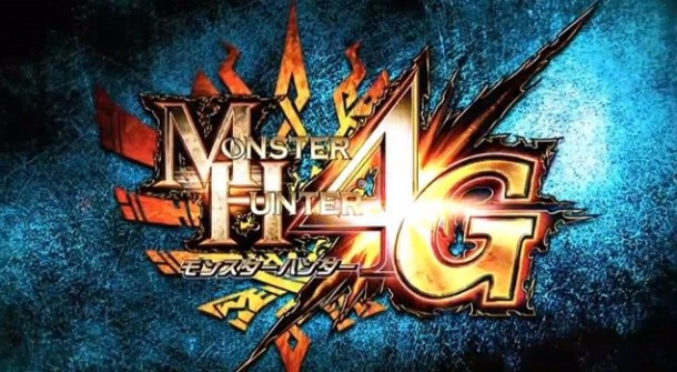 Monster Hunter 4G - Logo
