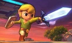 Super Smash Bros 3DS | Toon Link Sword Slash