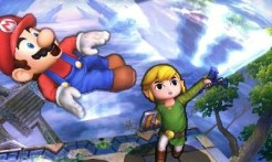 Super Smash Bros 3DS | Toon Link vs Mario
