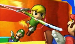 Super Smash Bros | Mario Bros vs Toon Link
