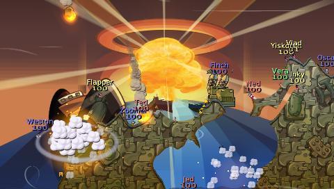 Worms Battle Island