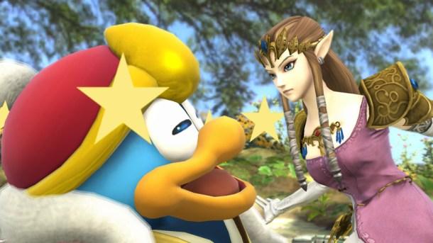 King Dedede and Zelda - Smashing Saturdays   oprainfall
