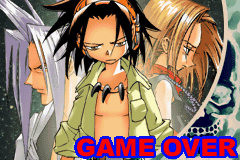 Shaman King - Master of Spirits | Game Over Screen