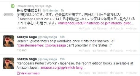 Soraya Saga - Nod to the Direct | oprainfall