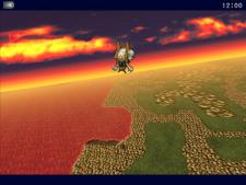 Final Fantasy VI for iPad (Japanese) | Airship Flight