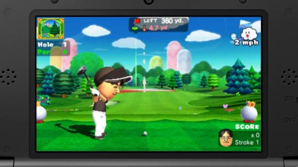 Mario Golf: World Tour—Satoru Iwata Mii Normal | oprainfall