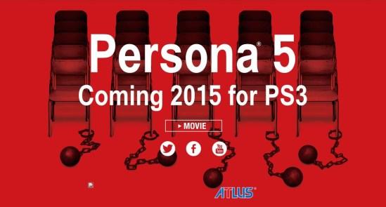 Persona 5 Website