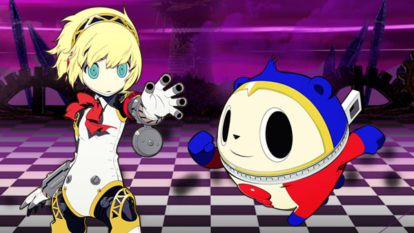Persona Q Aigis and Teddy