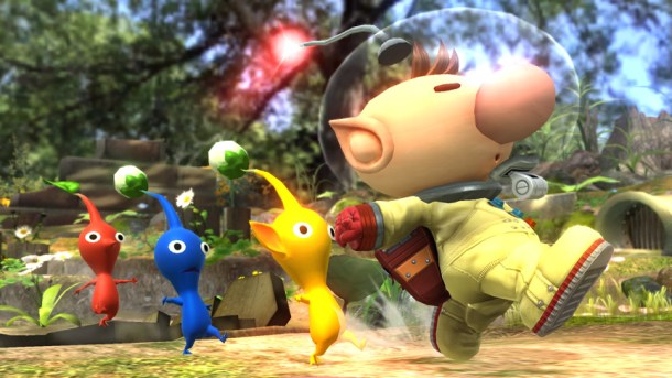 Smashing Saturdays - Character of the Week: Olimar | oprainfall