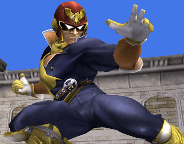 Character of the Week: Capt. Falcon - Smashing Saturdays! | oprainfall