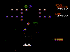 Galaga (NES) - Nintendo Download Europe | oprainfall