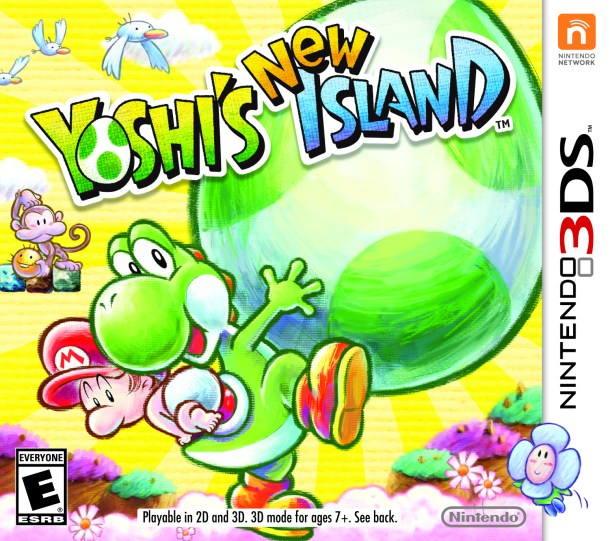 Yoshi's New Island | Box Art (North America)